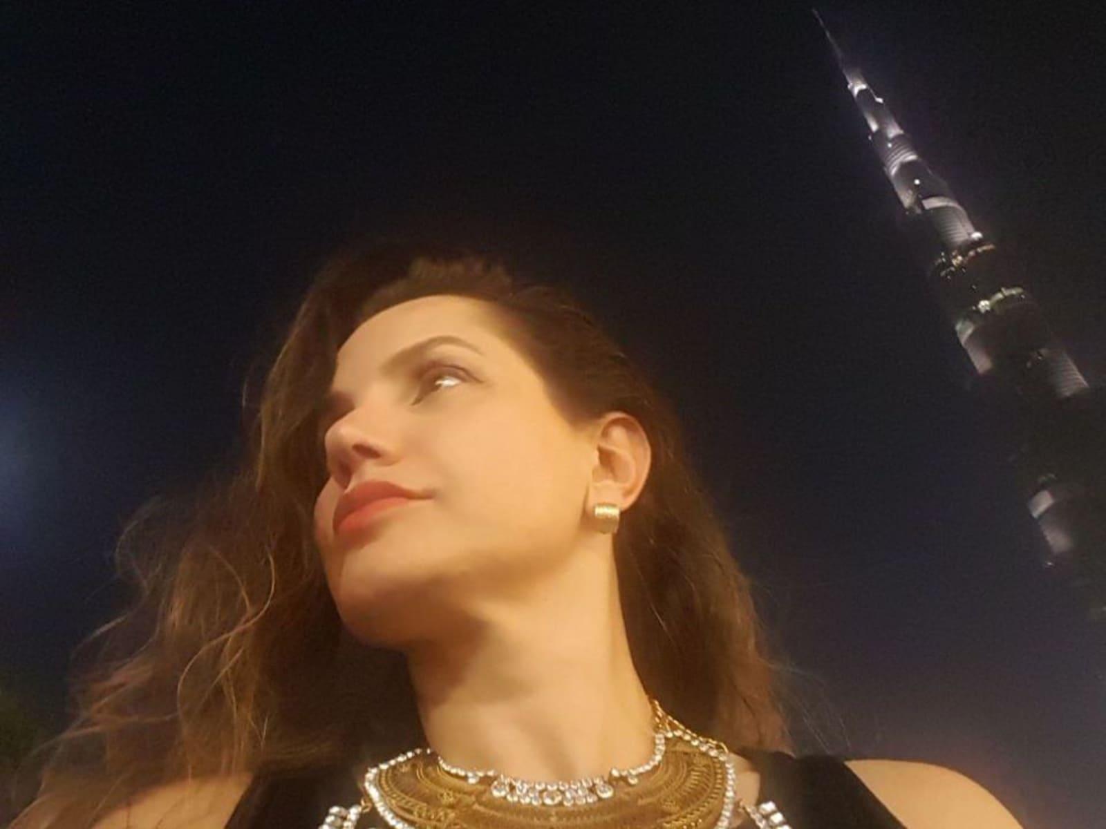 Juliana from Dubai, United Arab Emirates