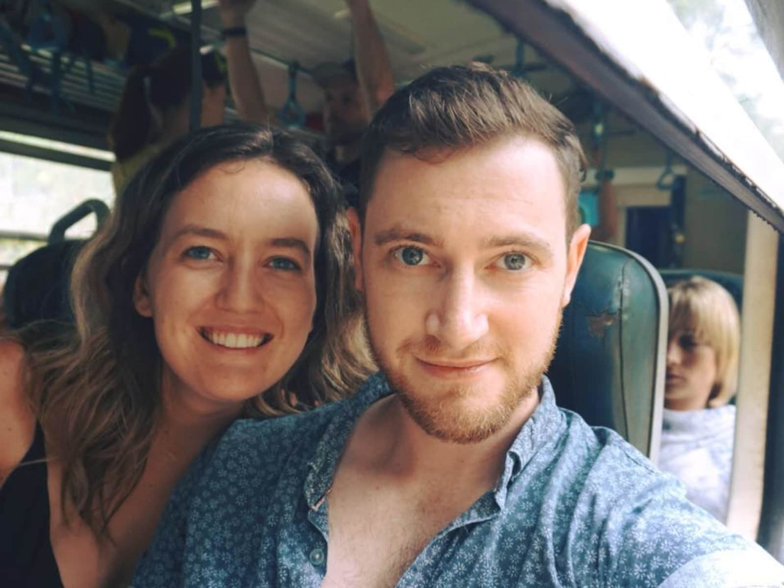 Caitlin & Billy from Droxford, United Kingdom