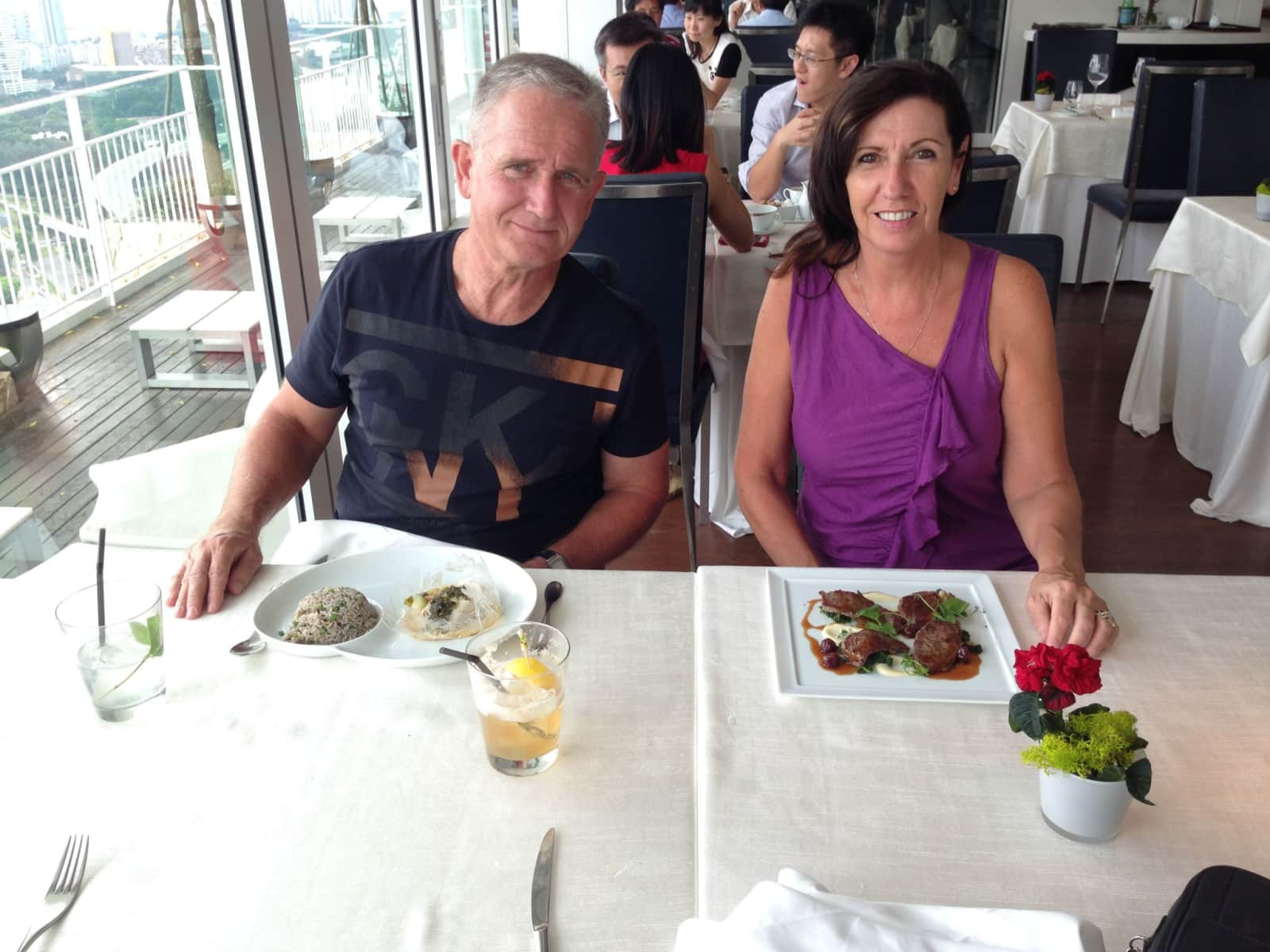 Cheryl & Martyn from Auckland, New Zealand