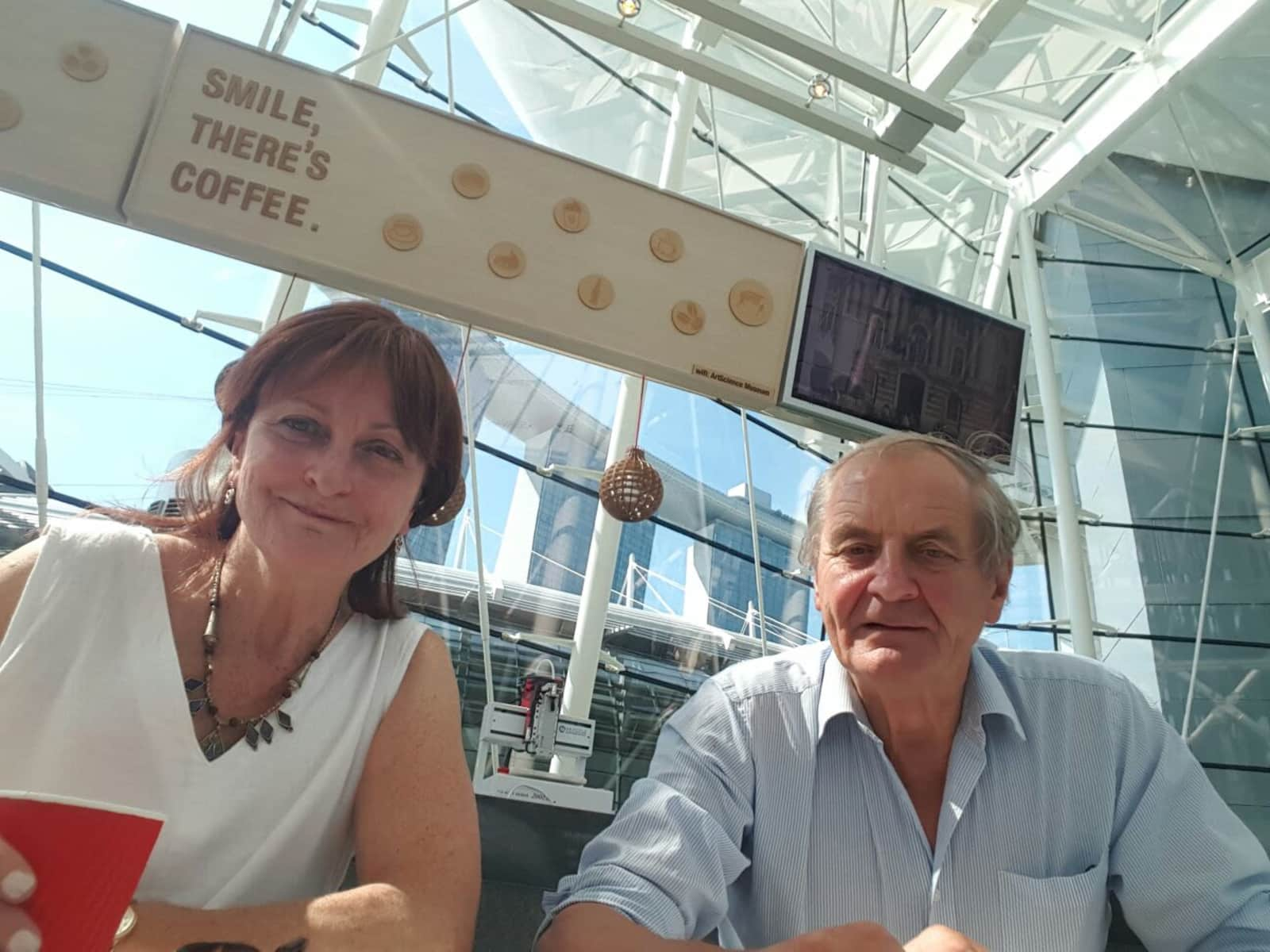 Alison & Simon from Warminster, United Kingdom