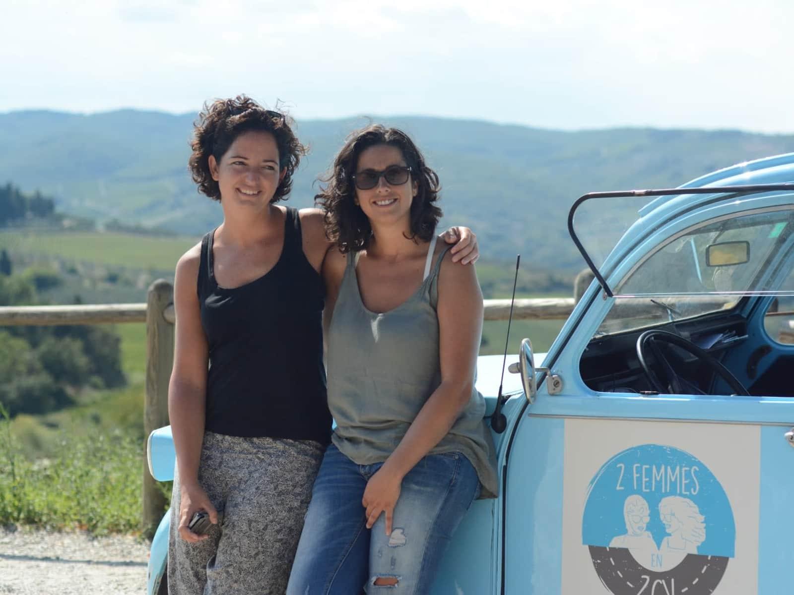 Ana maria & Eva from Barcelona, Spain