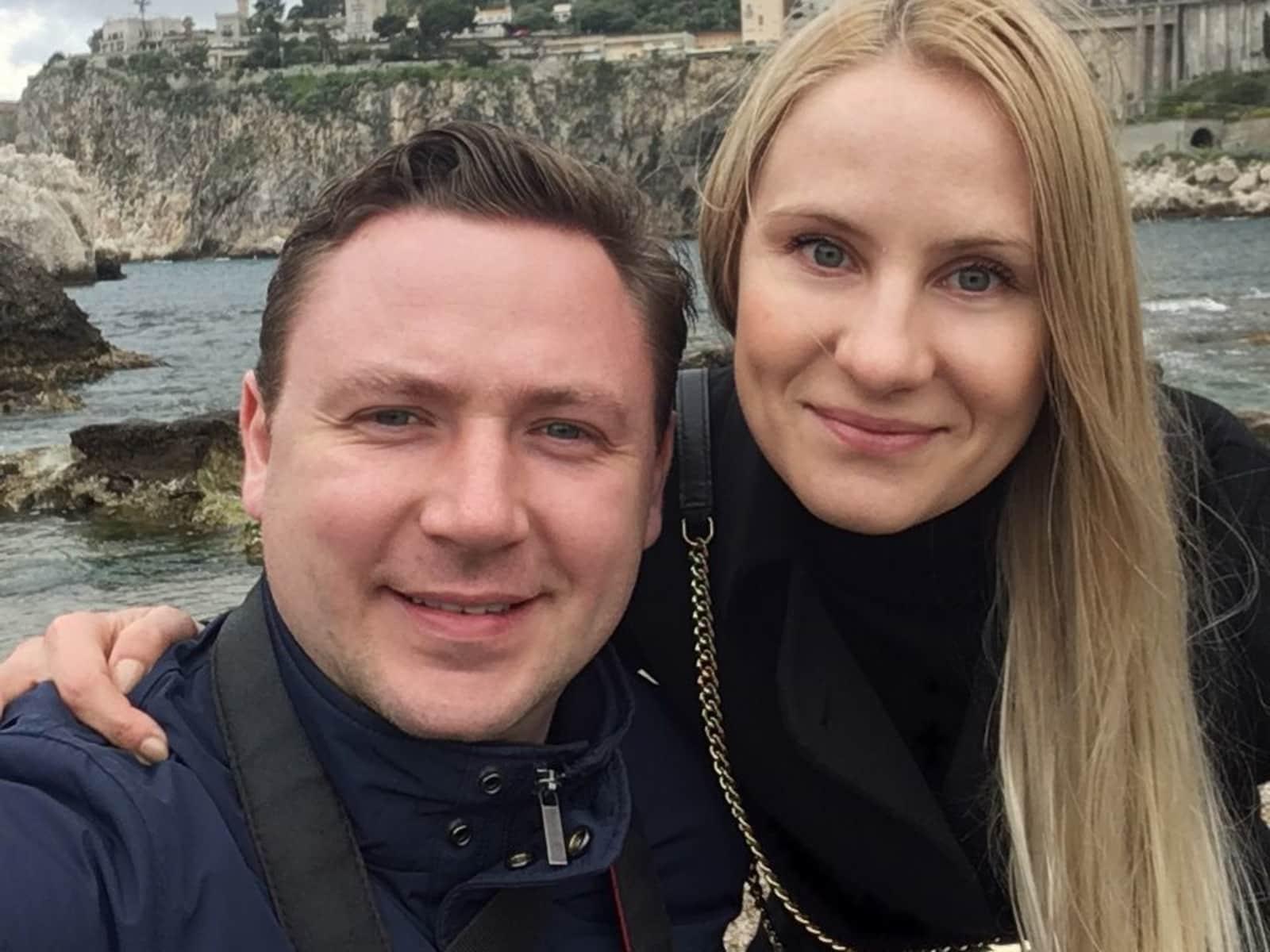 Iuliia & Maksym from Kraków, Poland