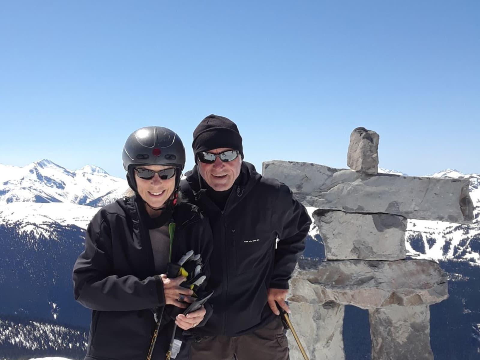 Robert & Lynn from Sherbrooke, Quebec, Canada