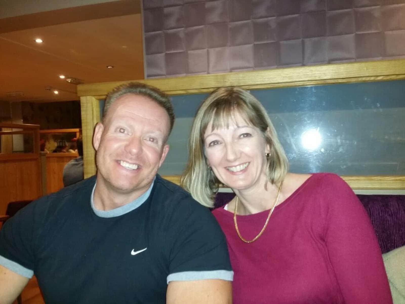 Richard & Christine from Worcester, United Kingdom