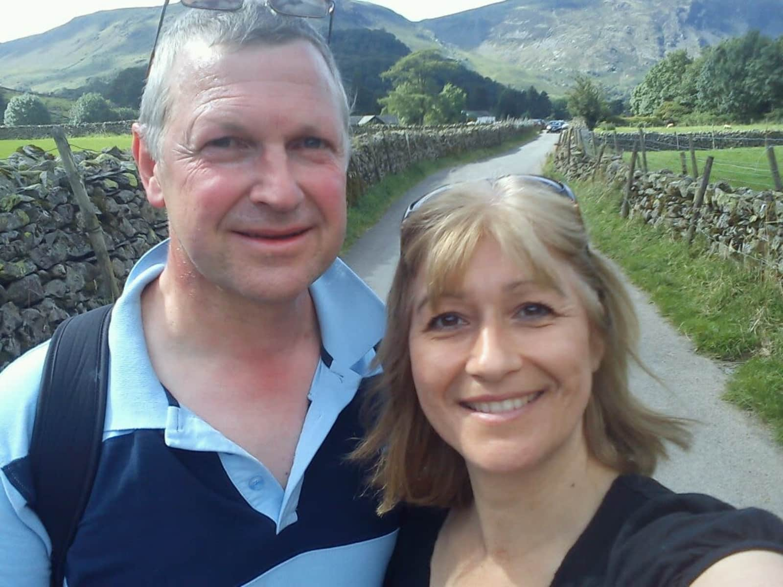 Michael & Andrea from Edinburgh, United Kingdom