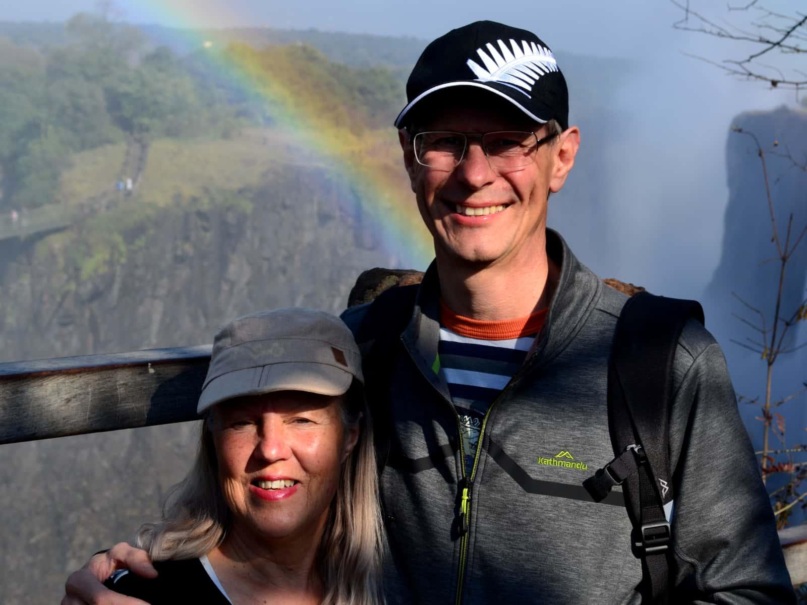Barbara & Graham from Motueka, New Zealand