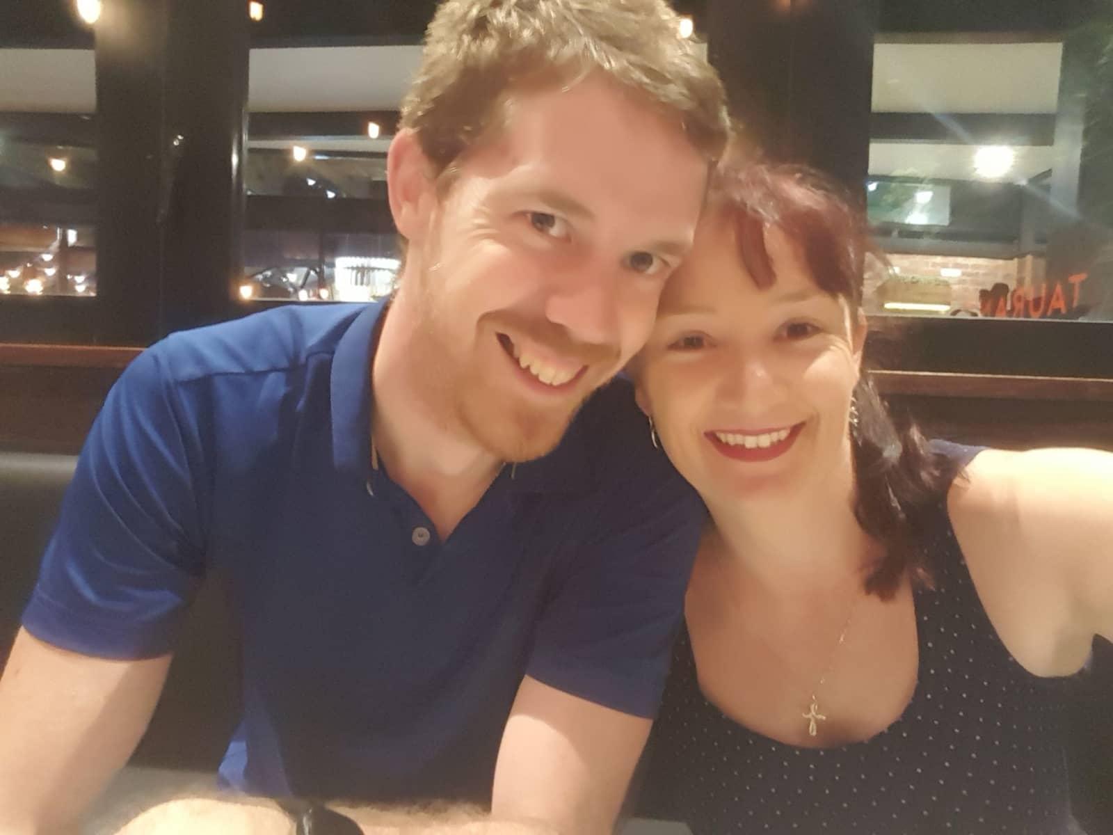Rebecca & Nicholas from Rothwell, Queensland, Australia