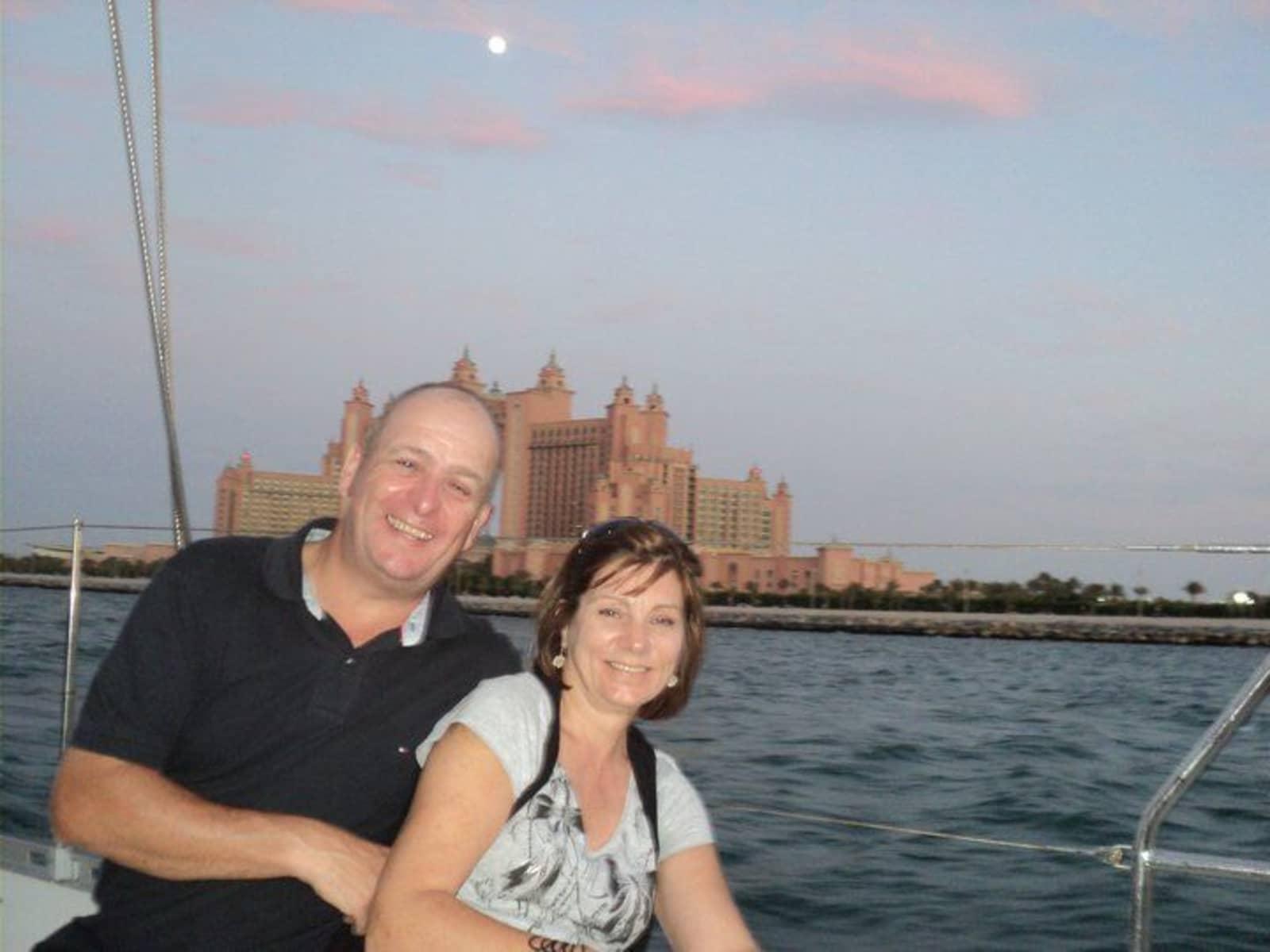Denise & Ian from Hermanus, South Africa