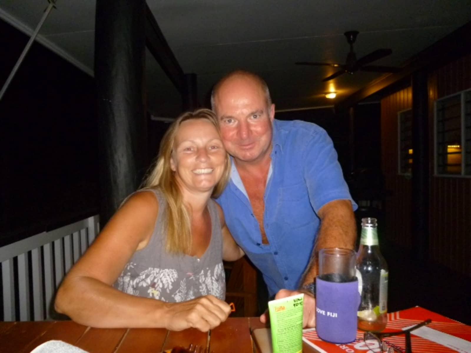 Sheila & Steve from Carisbrooke, United Kingdom