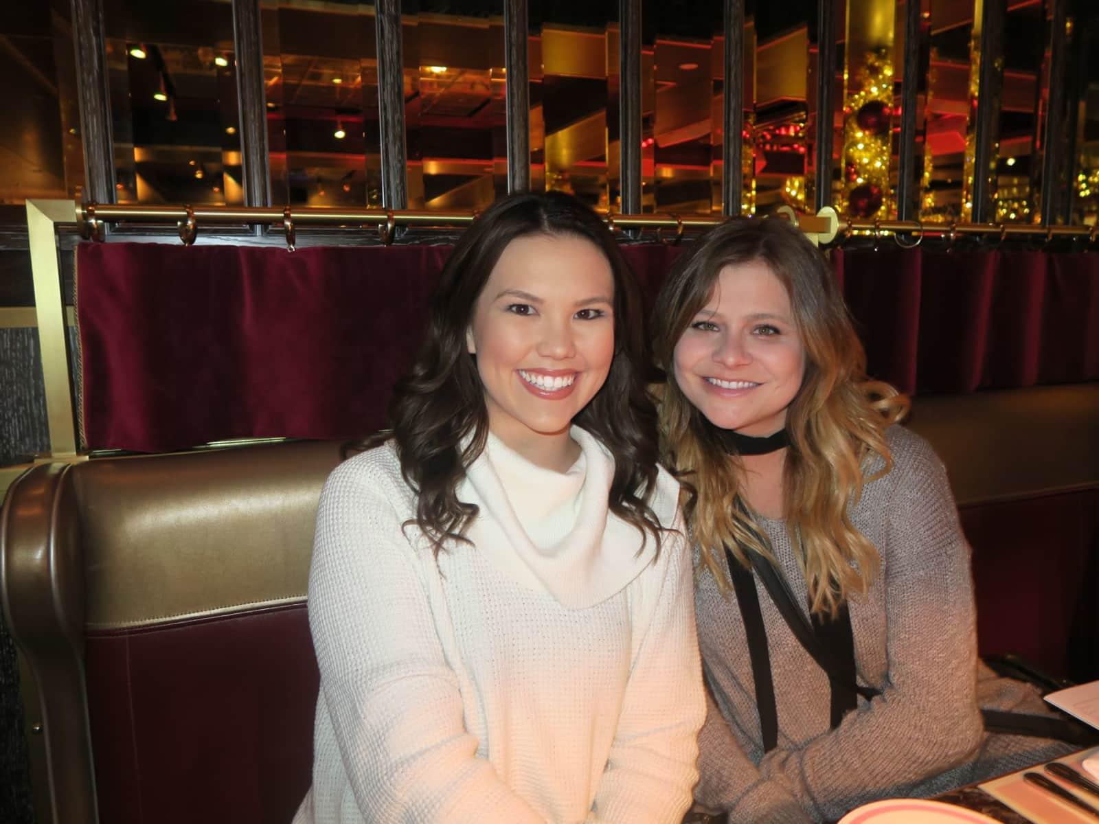Kayla & Kelsey from Santa Monica, California, United States