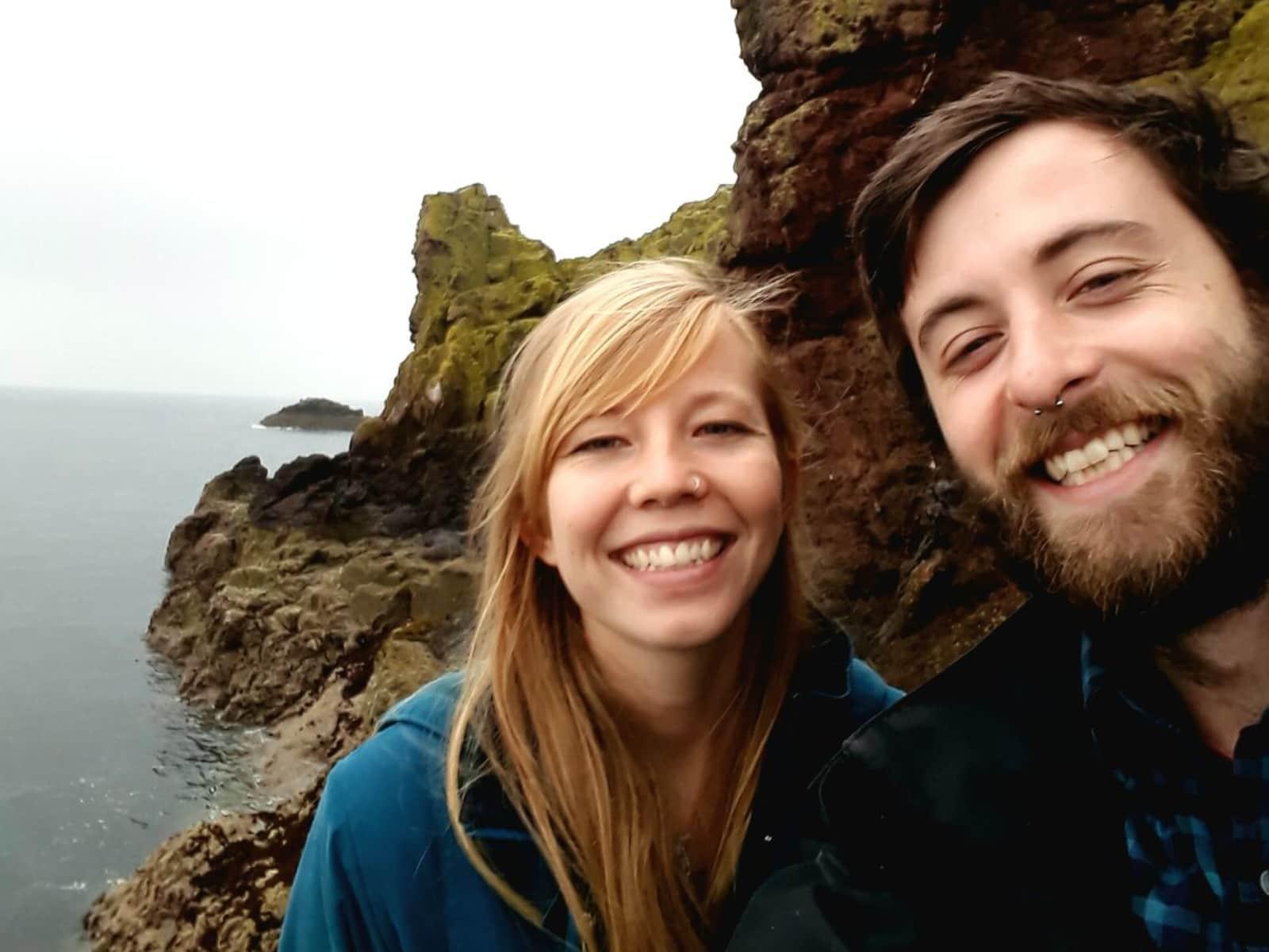 Sophie & Calum from Edinburgh, United Kingdom