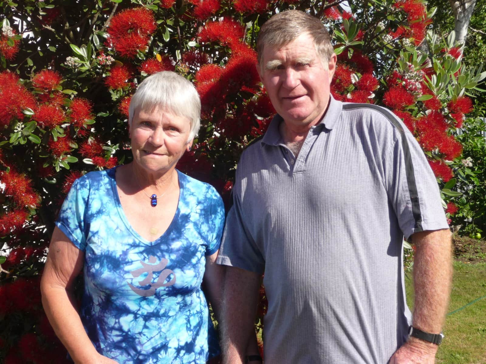 Lynne & Ray from Whangaehu, New Zealand