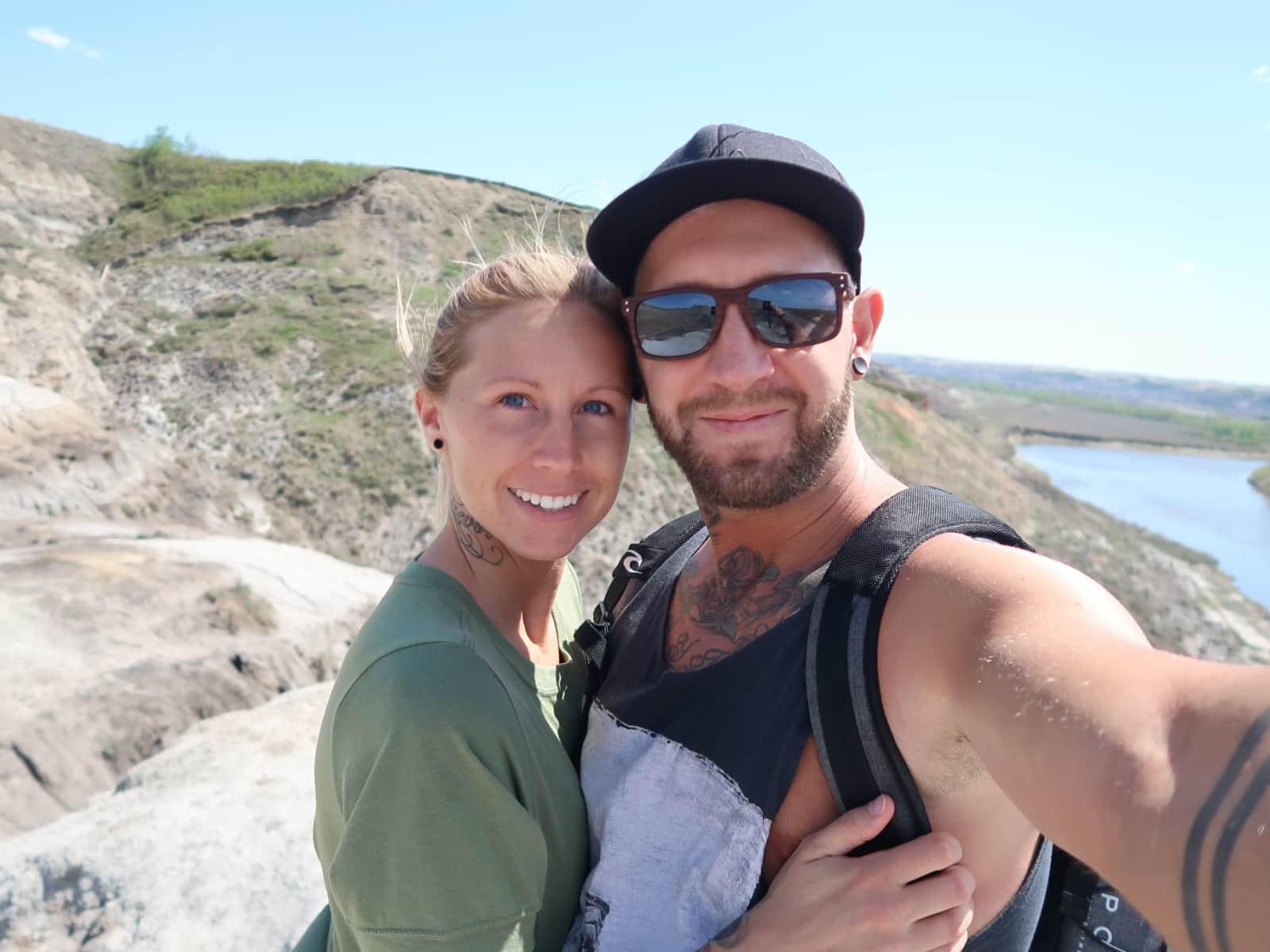 Lindsey & Trevor from Calgary, Alberta, Canada