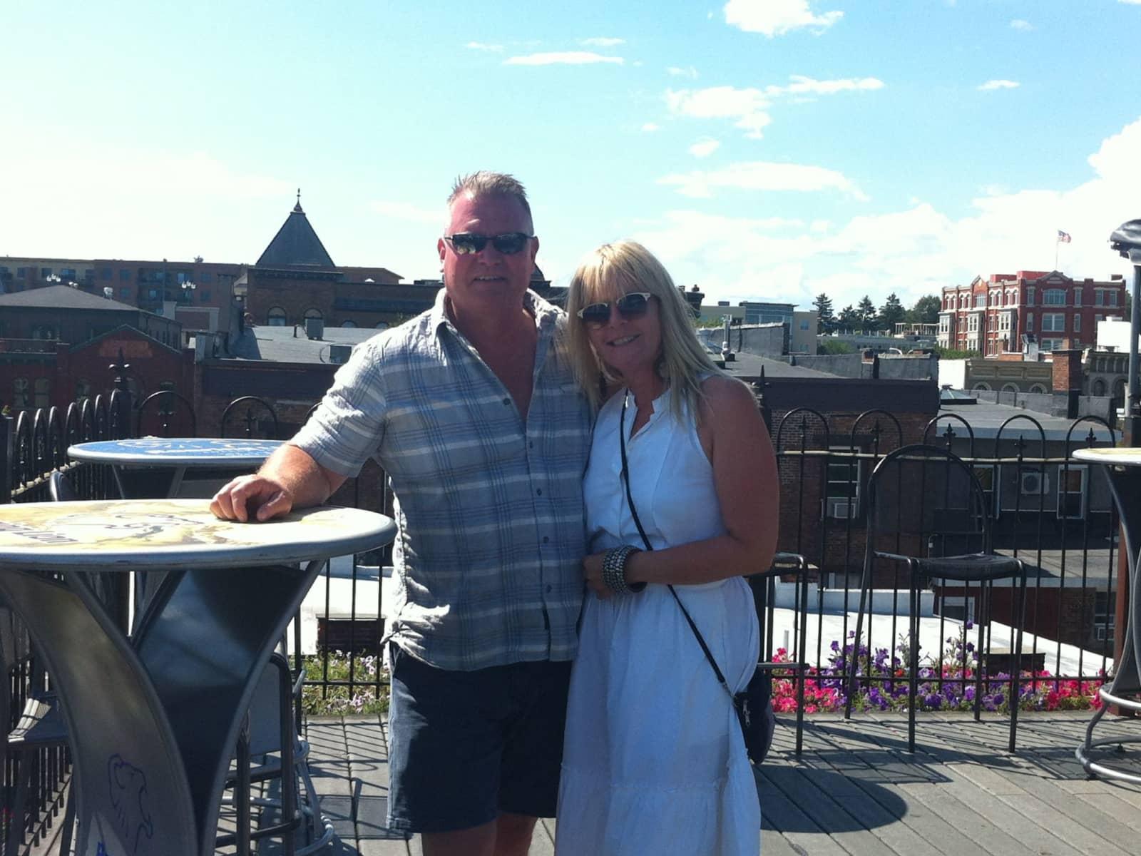 Bernadette & Mark from Ottawa, Ontario, Canada