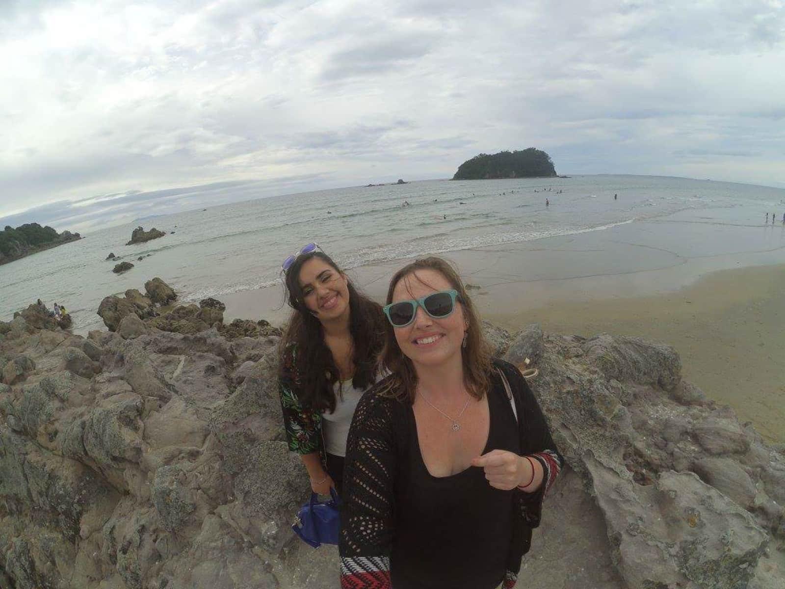 Emmanuelle & Lisa from Wellington, New Zealand