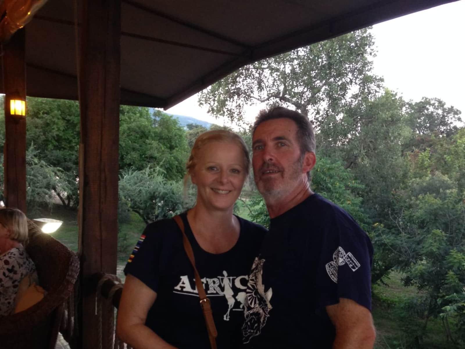 Elizabeth & Ken from Melbourne, Victoria, Australia