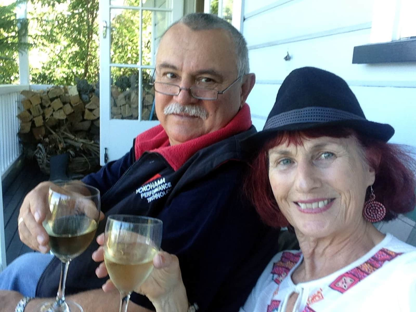Suzie & Peter from Nelson, New Zealand