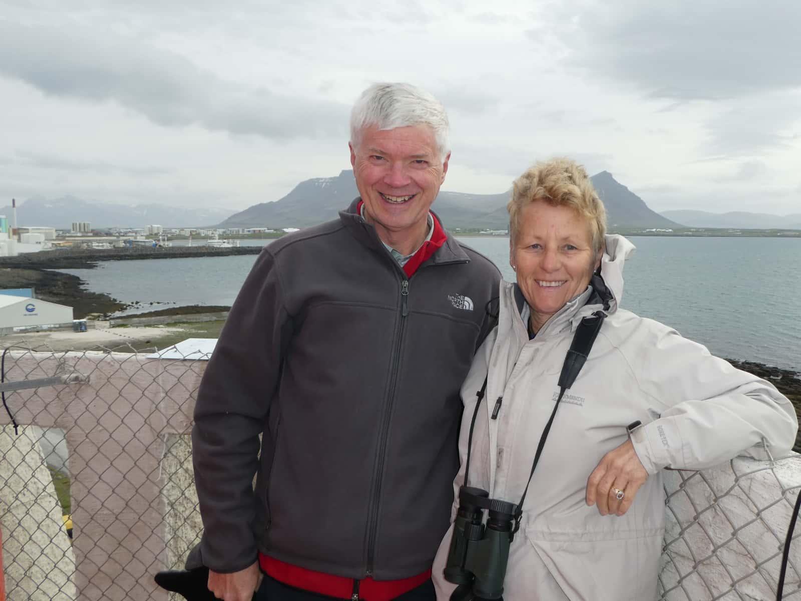 Debra & Ian from Perth, Western Australia, Australia