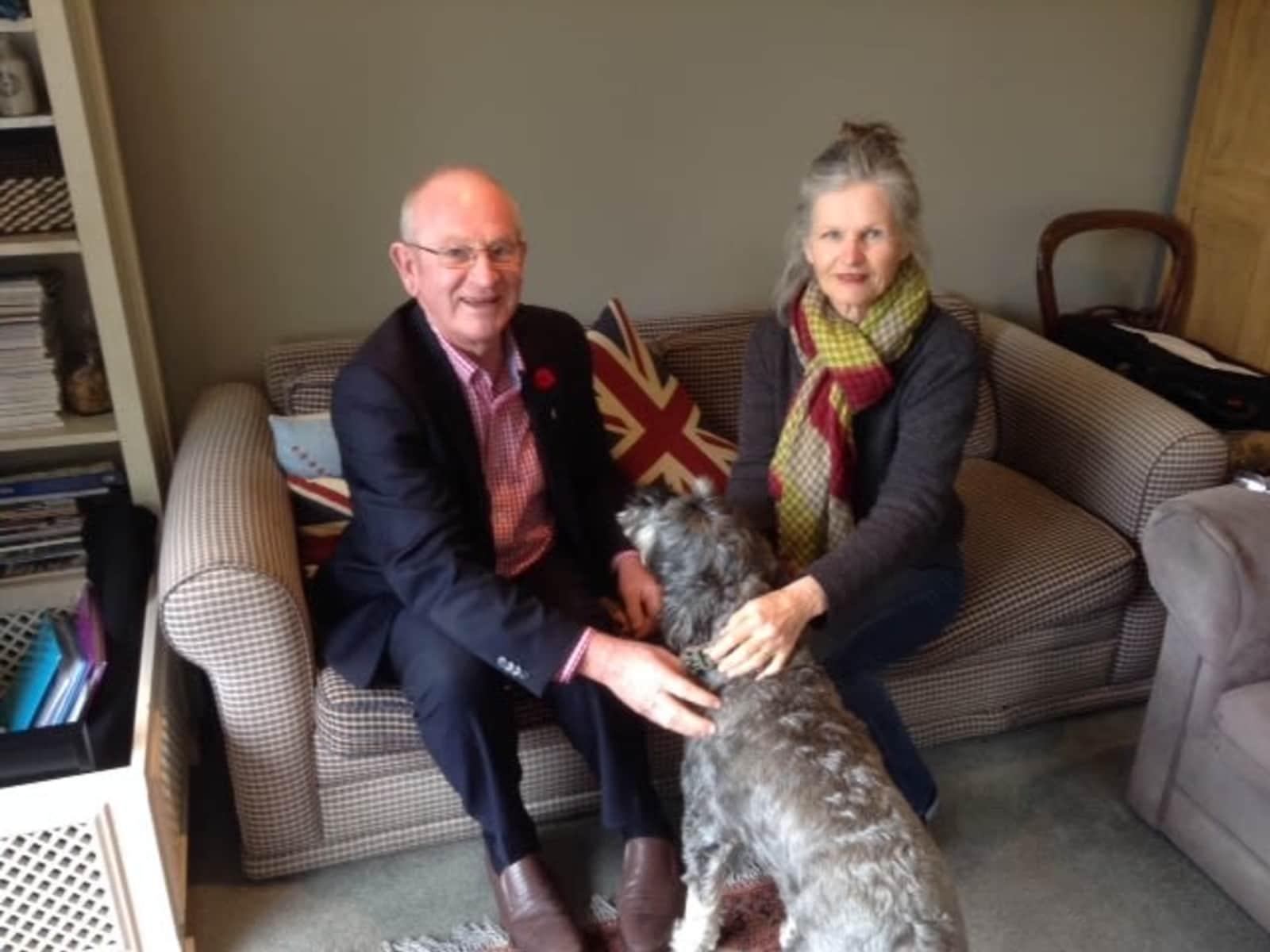 Marie & Robert from Christchurch, New Zealand