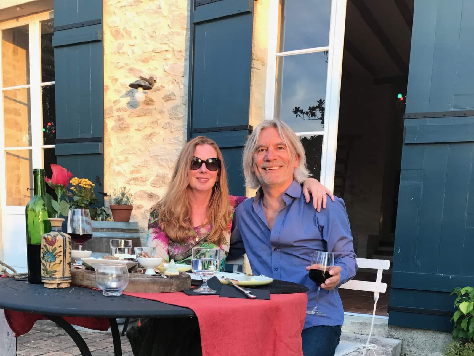 Kathryn & Mark from Écouché, France