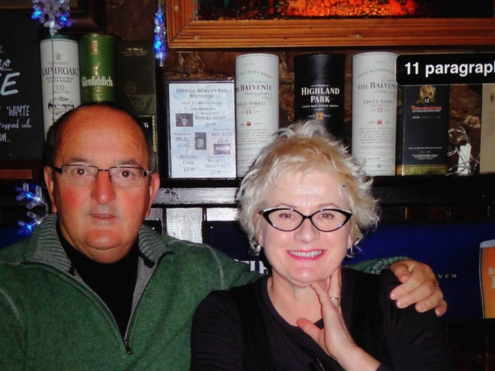 Wendy & Roger from Christchurch, New Zealand