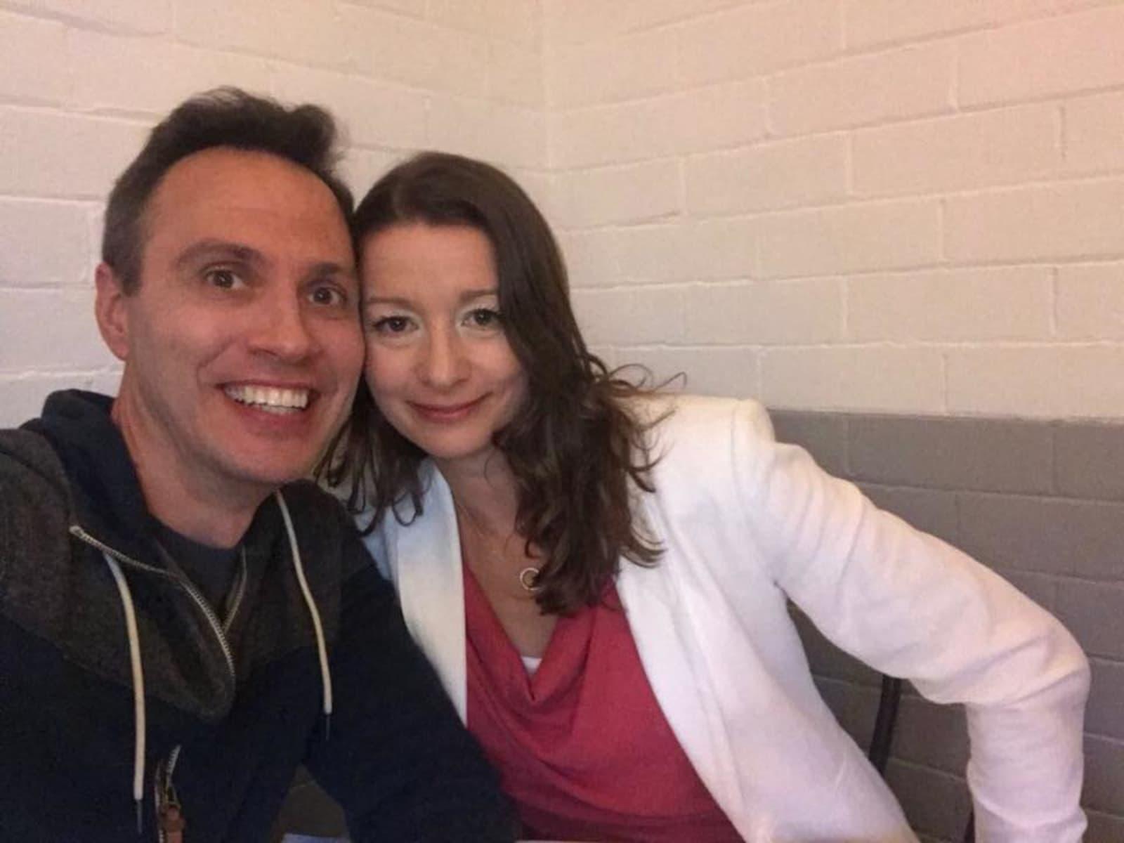Vanya & Edward from Sydney, New South Wales, Australia