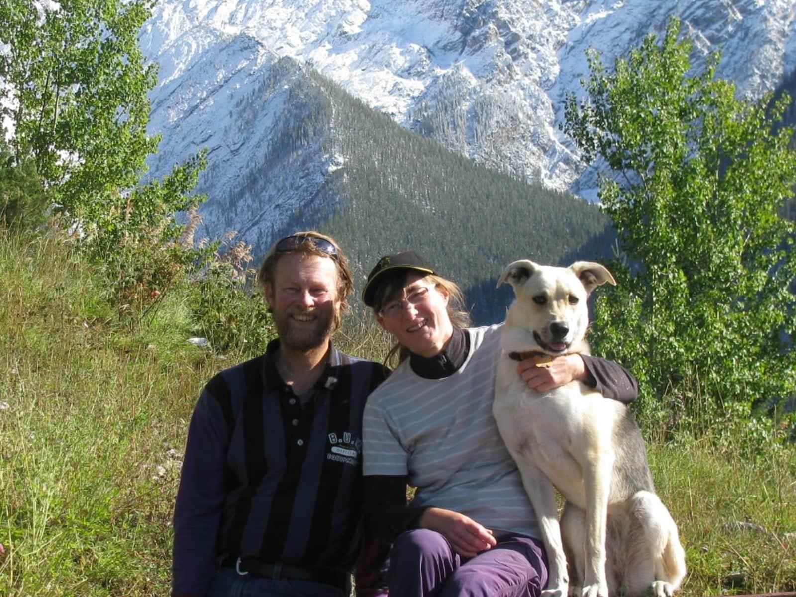 Gaby & Geoff from Parrsboro, Nova Scotia, Canada