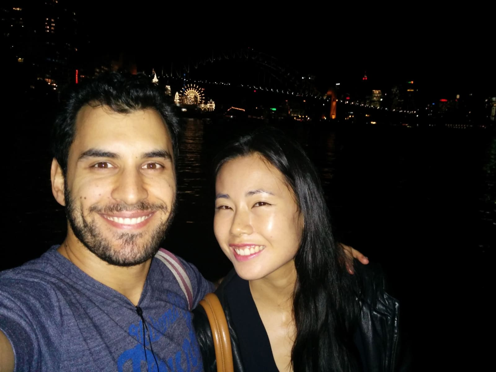 Adrian & Sarah from Sydney, New South Wales, Australia
