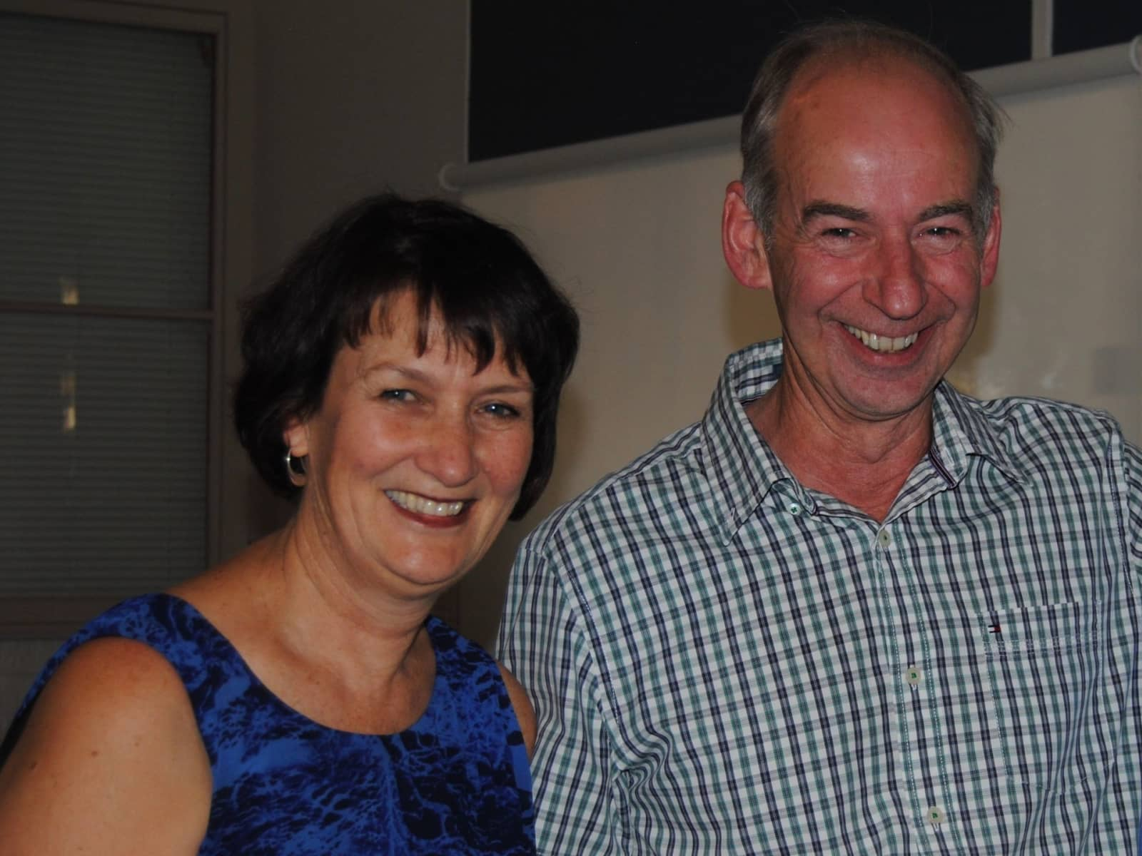 Jennifer & Graeme from Donald, Victoria, Australia