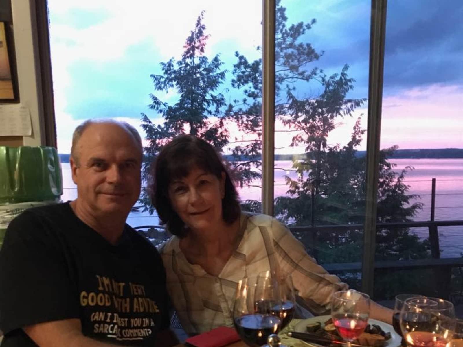 Colleen & Steve from Toronto, Ontario, Canada
