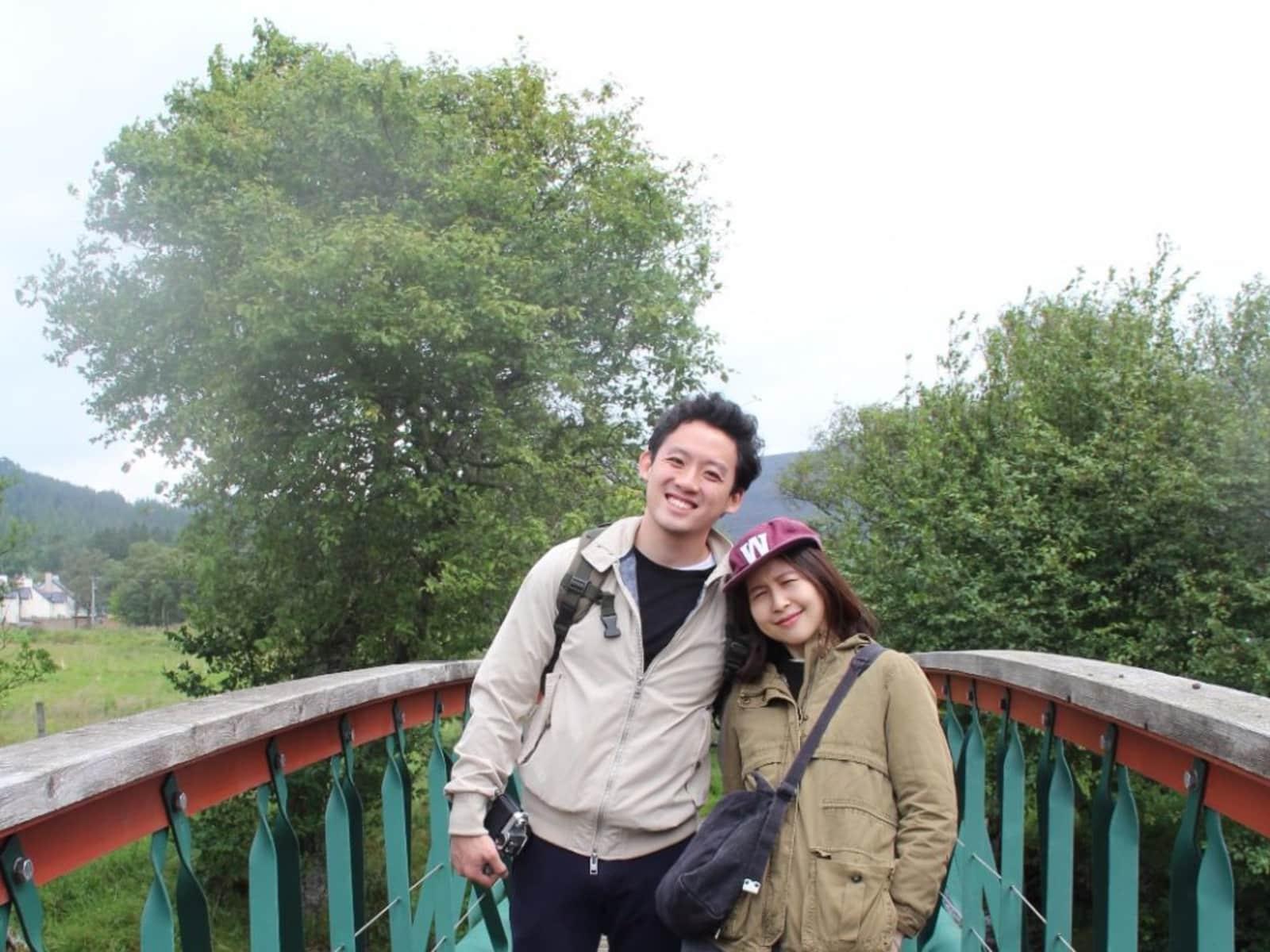 Kate & Eugene from Brighton, United Kingdom