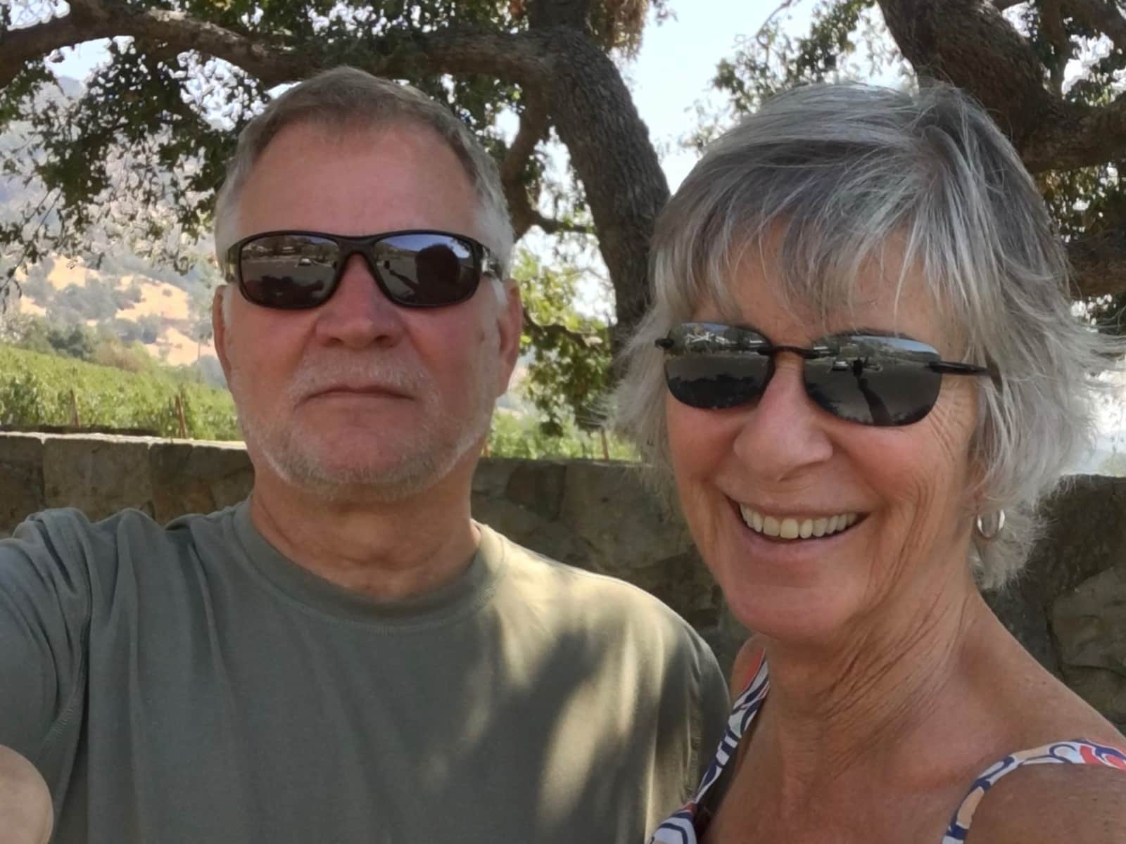 Linda & Mike from Sonoma, California, United States