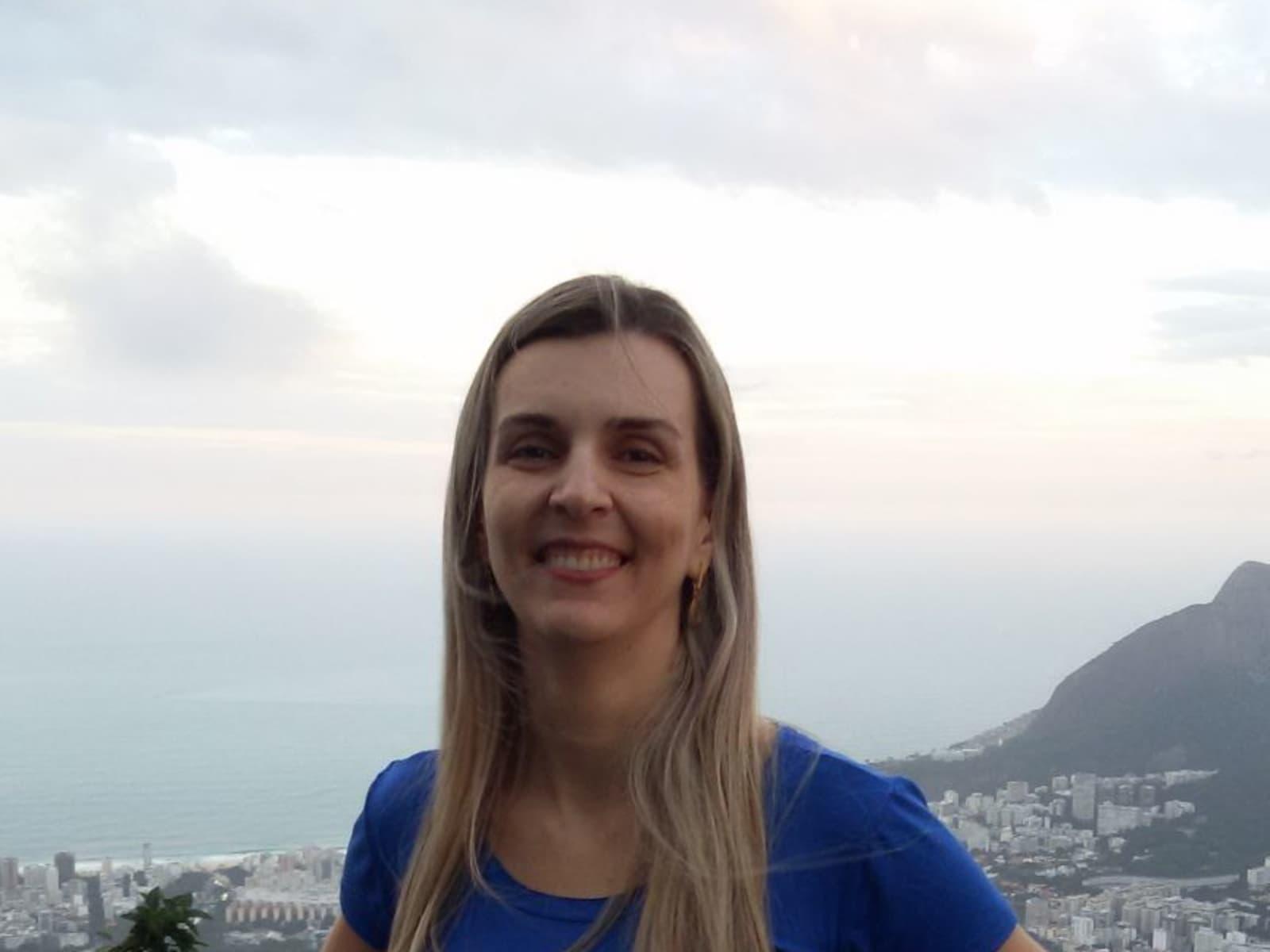 Patrícia from Cuiabá, Brazil