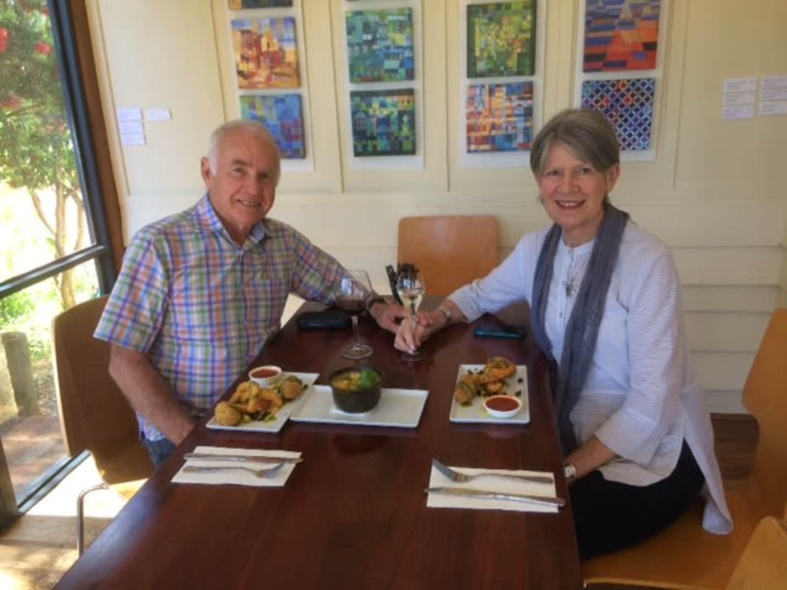 Kevin & Linda from Perth, Western Australia, Australia