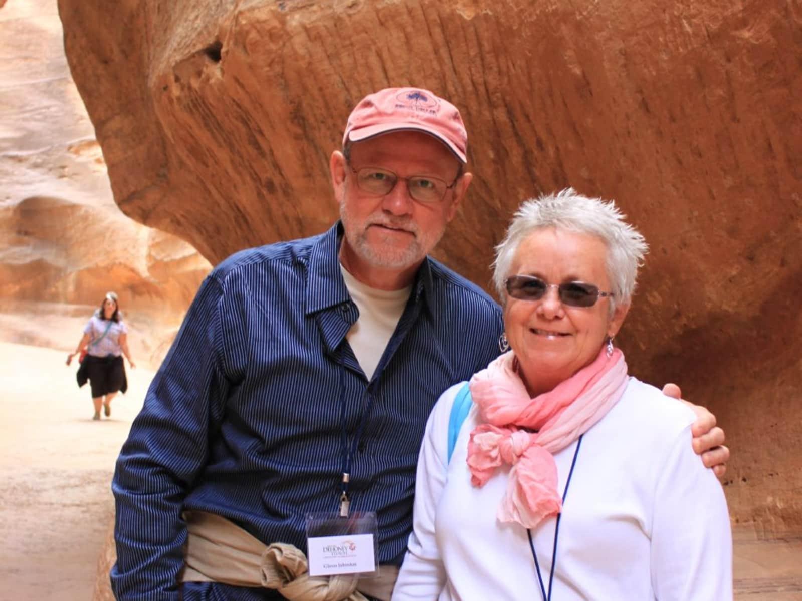 Patricia & Glenn from Grimesland, North Carolina, United States