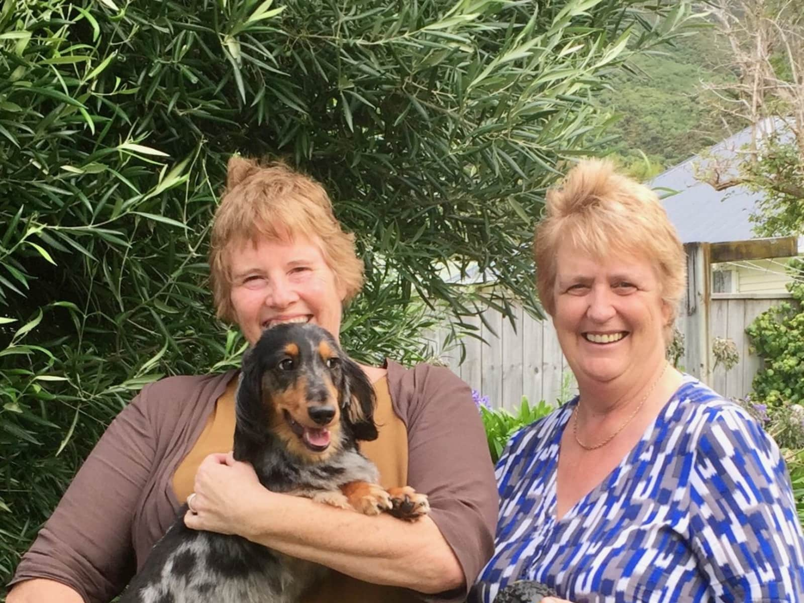 Ange & Deborah from Wellington, New Zealand