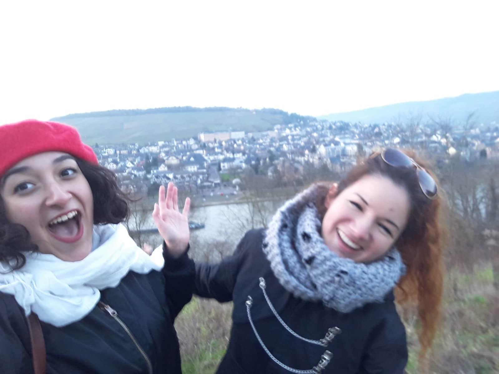Natalia & Camila from General Roca, Argentina