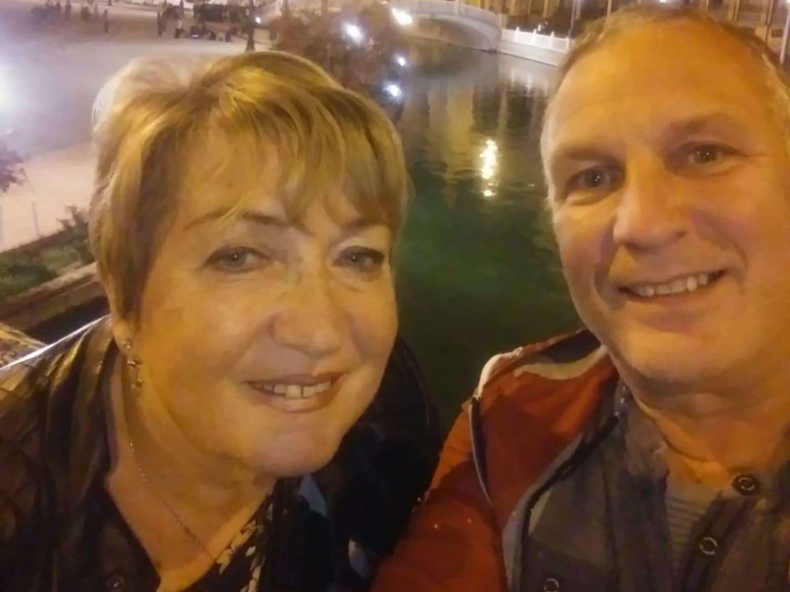 Sandra & Graeme from Málaga, Spain