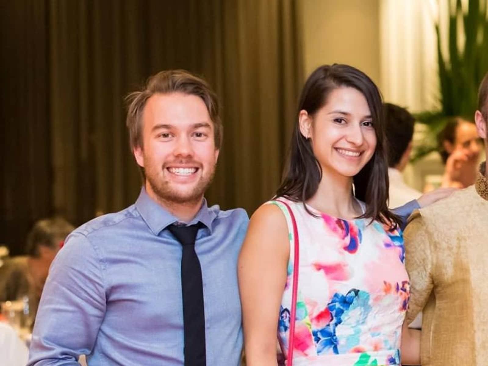 Daniel & Jaclyn from Melbourne, Victoria, Australia