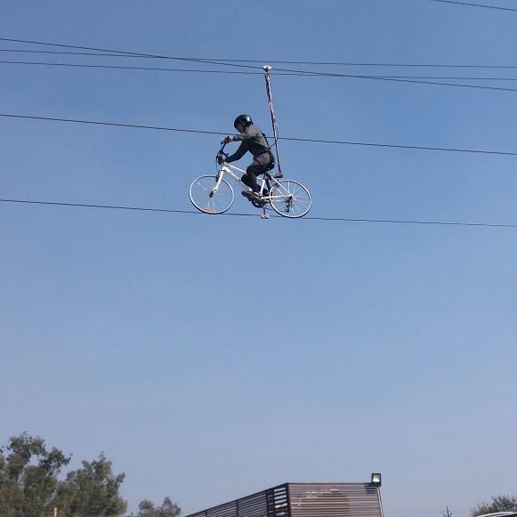 SKY cycle in Delhi