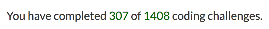 My progress with freeCodeCamp. I am indeed a pleb.