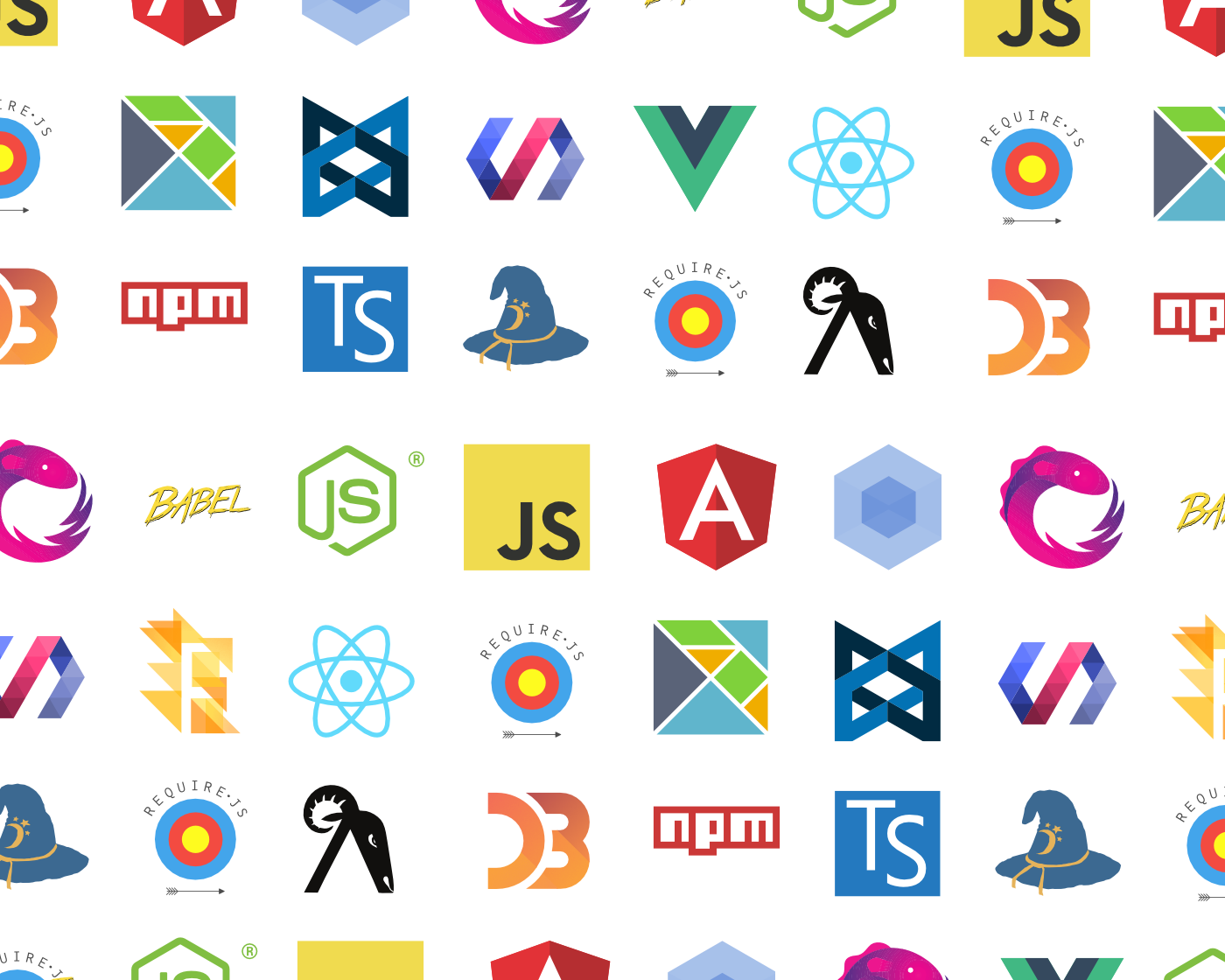 A picture of a billion JavaScript frameworks