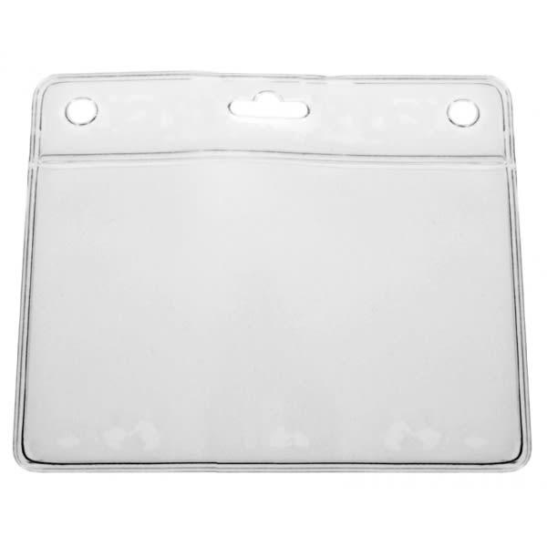 Korthållare IDS 36H, mjuk vinyl, horisontal, transparent
