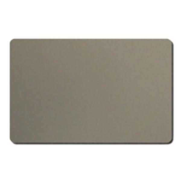 Plastkort, Silver, 0,76 mm
