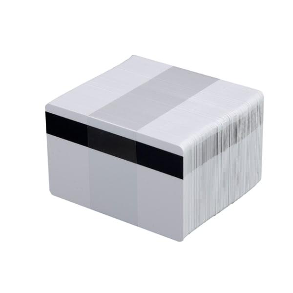 Plastkort, 0,76 mm, LOCO MAG-remsa, 100 st
