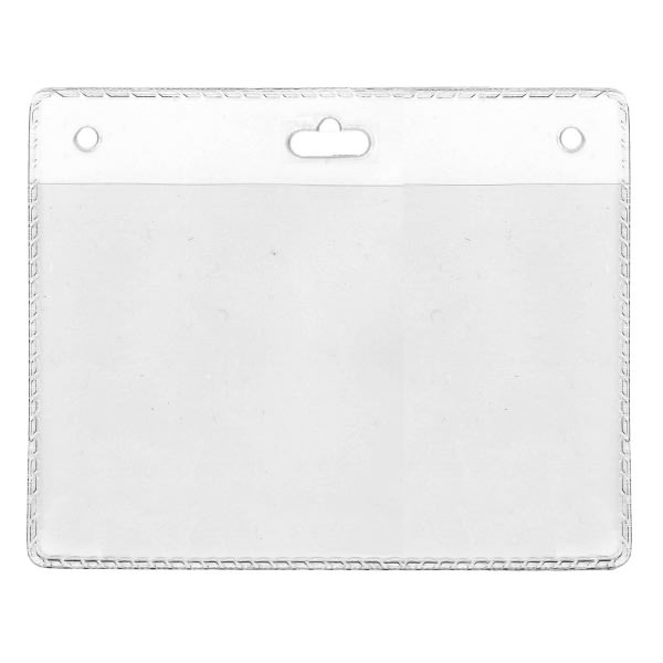 Korthållare IDS 31.1, PVC transparent, horisontal, 105 x 70