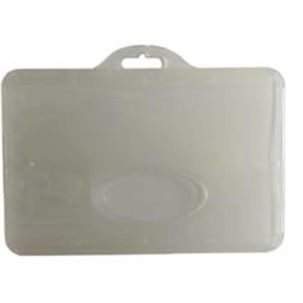 Korthållare. miljövänlig, för kort som är 86 x 54 mm