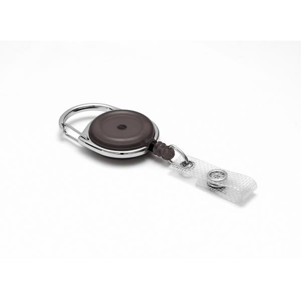 Jojo med bälteskrok, transparent svart, 100 st