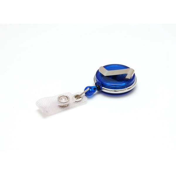 Jojo med svängbart fäste, transparent blå