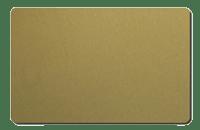 Produktbild på Plastkort, Guld, 0,76 mm, signaturfält, 100 st